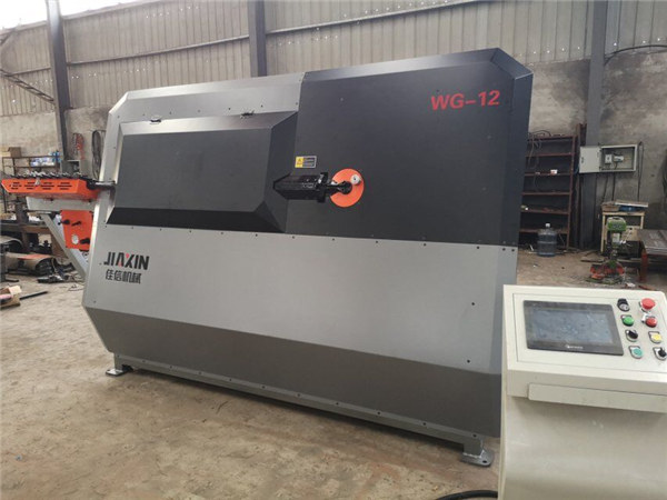 4мм - 12mm гидравлик CNC ган бар ажилчны, арматур гулзайлтын машин, автомат ган дөрөө гулзайлтын машин